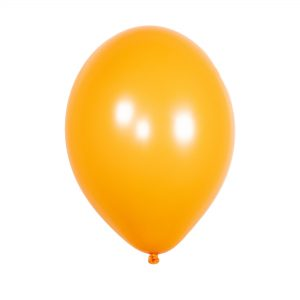 Latex balloon with helium – Solid color – 30 cm.