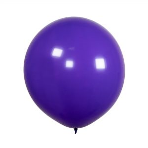 Latex balloon with helium – Solid color – 48 cm.