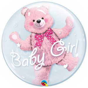 Baby Girl Deco Bubble Balloon