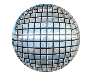 DISCO sphere balloon