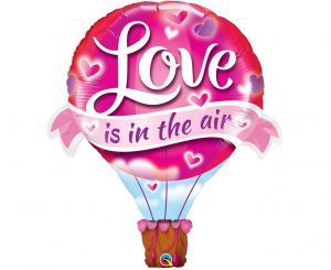 Love Parachute Balloon