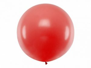 XXL Latex balloon with helium – Solid color – 1 m.