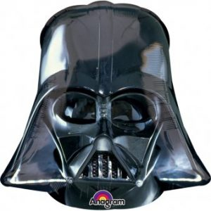 Ballon à l'hélium casque Dark Vador – Star Wars