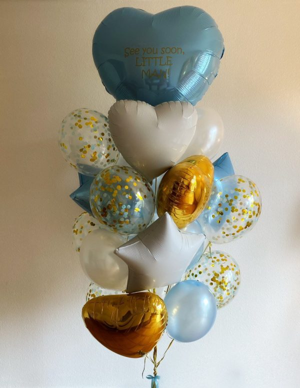 Giant Surprise balloon arrangement with personalization
