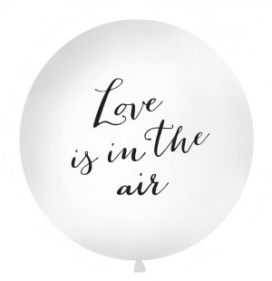 "Ballon latex ""Love is in the air"""