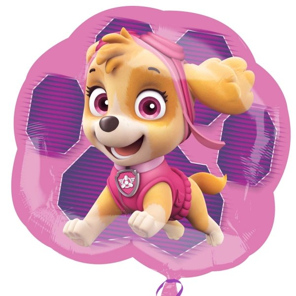 Paw Patrol Girly shaped foil balloon
