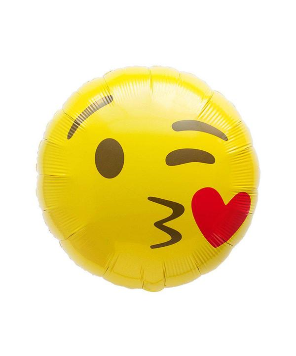 Kiss Emoji Balloon