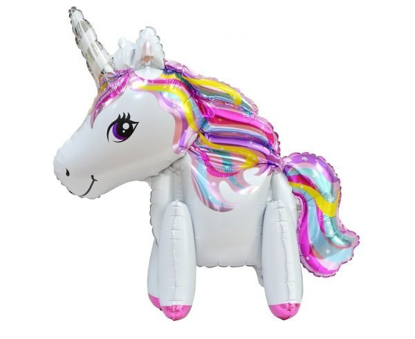 Mini Unicorn Airwalker Balloon | Faraday Helium Balloons Geneva