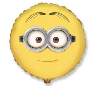 Minion Rounded Helium Balloon