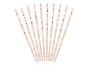 "Cocktail straws ""Pink Tropical"" (10 pieces)"