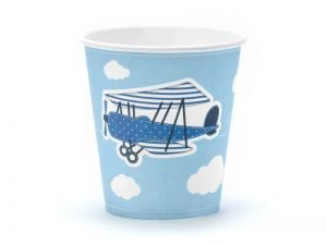 "Cups ""Little Plane"" (6 pieces)"