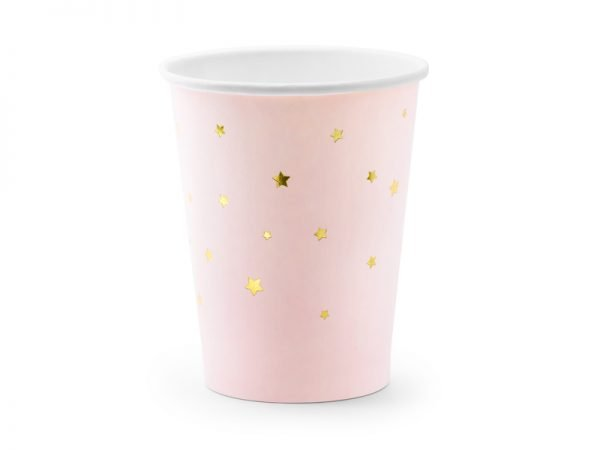"""Cups """"Stars & Pink"""" for a Party 