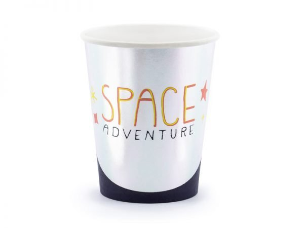 "Cups ""Astronaut"" for Kid's Birthday Party 
