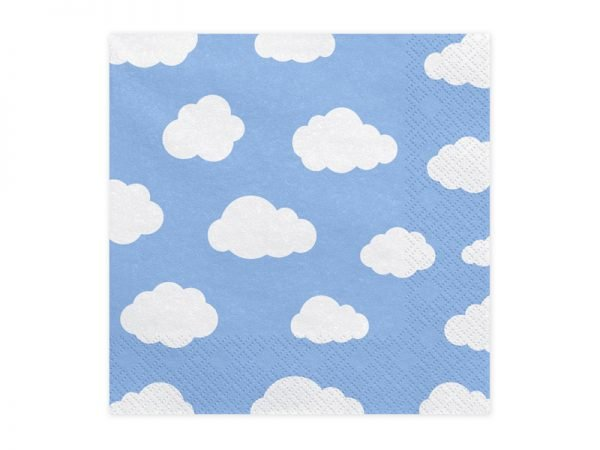 """Napkins """"Little Plane"""" for Kid's Birthday Party 