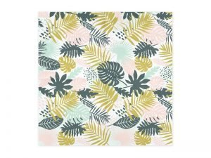 "Napkins ""Pink Tropical"" (20 pieces)"