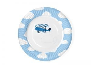 "Plates ""Little Plane"" (6 pieces)"