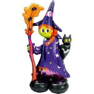Halloween Witch airwalker balloon