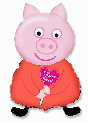 Pink Peppa Pig Balloon